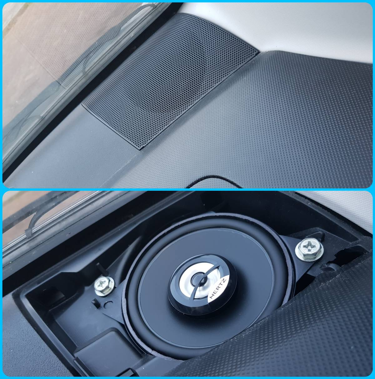 Peugeot 107 Pasklare Speakers Hertz